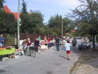 Billede fra tidligere loppemarked i 2005